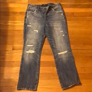Hollister Jeans crystals